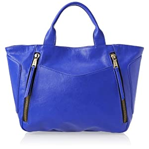 Co-Lab by Christopher Kon Katrina Top Handle Bag,Cobalt,One Size