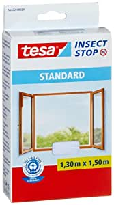 Tesa® Insect Stop 55672-00020-02 Moustiquaire Standard pour fenêtre, 1.3m x 1.5 m