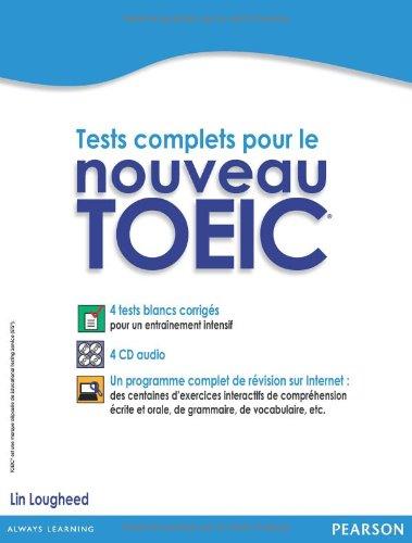 preparation au toefl version ibt methode de preparation avec exercices pratiques et 3 tests blancs corriges 6 cd