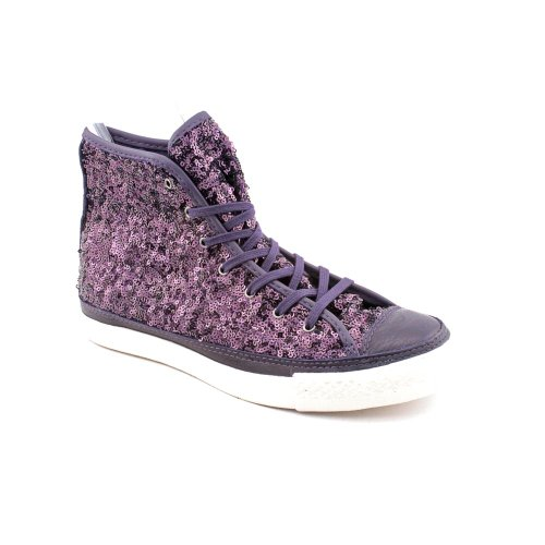 Converse CT Premium Hi Athletic Sneakers Shoes Purple Womens
