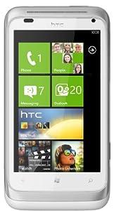 HTC Radar Smartphone (9,6 cm (3,8 Zoll) Touchscreen Display, 5 Megapixel Kamera, GSM, UMTS, HSDPA, WiFi, micro USB 2.0, Windows Phone 7.5) silber/weiß