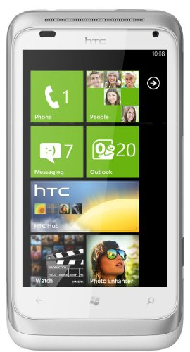 HTC Radar C110E Unlocked GSM Phone - White/Silver
