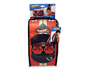 Neat-Oh Neat-Oh!® Hot Wheels? ZipBin® Racer Backpack with Car (Red Exterior) from Neat-Oh