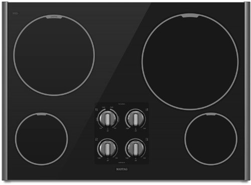 Maytag MEC7430WS 30 Smoothtop Electric Cooktop – Stainless Steel  ->  For generations, families have depended on Maytag