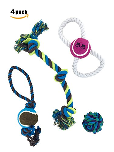 Method Max Dog Toy four pack