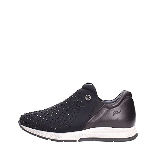Liu Jo Girl UB22600 Slip On Donna Tessuto Nero Nero 38