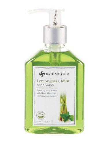 Lavar a mano 0-baño-floración Lemongrass menta 200 mL