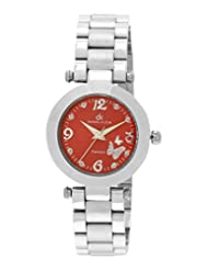 Daniel Klein Analog Red Dial Women's Watch - DK10533-5