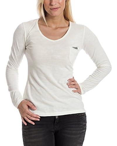 Timezone Camiseta Manga Larga Blanco M