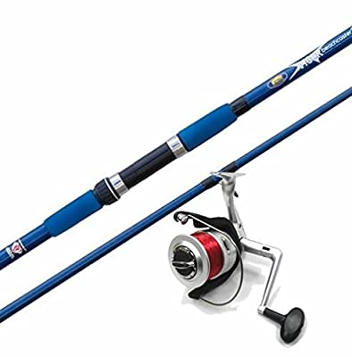 1 x VIGOR 12FT BEACH CASTER SEA FISHING ROD 4oz / 12oz & 1 x SILKLINE FD70 REELS from LINEAEFFE