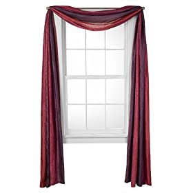 How to Make and Hang Scarf Window Valances