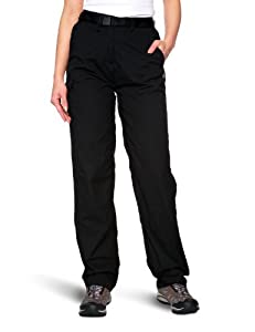 Craghoppers Classic Kiwi Womens Walking Trousers - Black, Long-Size 10