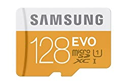 Samsung 128GB EVO Micro SDXC up to 48MB/s with Adapter (MB-MP128DA/AM)
