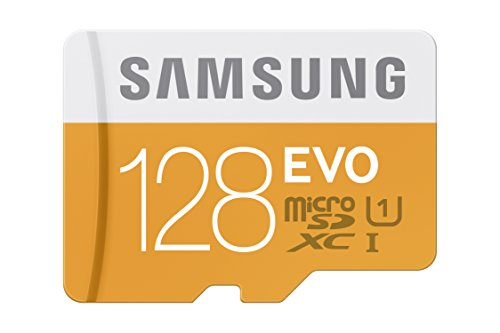 Samsung 128GB up to 48MB/s EVO Class 10 Micro SDXC Card with Adapter (MB-MP128DA/AM) (Micro Flash Cards compare prices)