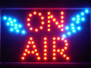 ADV PRO led012-r ON AIR LED Neon Business Light Sign Barlicht Neonlicht Lichtwerbung