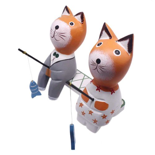 Cat Fishing Decoration Birthday Gift Kids Toys