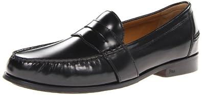 Polo Ralph Lauren Men's Arscott II Penny Loafer,Black,14 D US