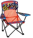 Transformers Toddler Folding Mesh Camping Chair with Arm Rest & Cup Holder