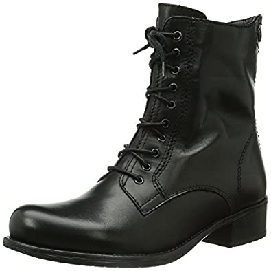 tamaris 25151 women combat boots black black 001 4 uk 37 eu shoes bags. Black Bedroom Furniture Sets. Home Design Ideas
