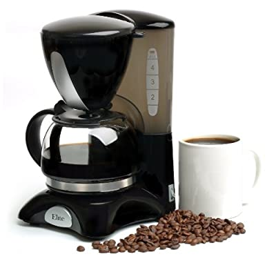 MaxiMatic EHC-2022 Elite Cuisine 4-Cup Elite Cuisine Coffee Maker with Pause and Serve from Maximatic