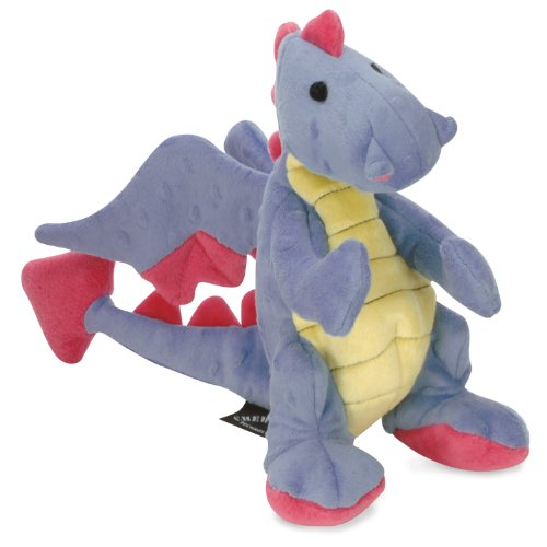 Sherpa Baby Dragon Periwinkle Dog Toy  Chew Guard