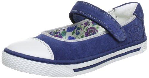 Lurchi Shirley Ballet Flats Girls blue Blau (Navy 22) Size: 9 (27 EU)