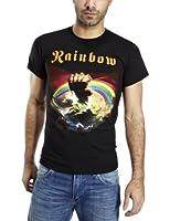 Plastic Head  Rainbow Rising Mens T-Shirt
