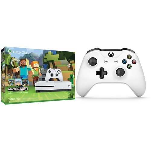 Xbox-One-S-500GB-Console-Minecraft-Extra-Controller-Bundle