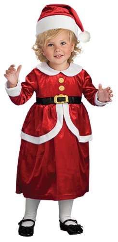 Rubies Lil' Mrs. Claus Children's Costume