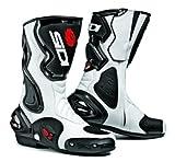 SIDI COBRA WHITE/BLACK SIZE 42 BOOTS: Sports Boots