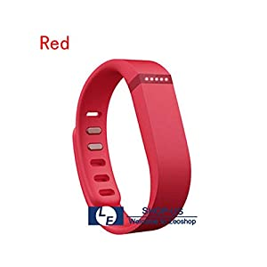 New Sleep Band Wireless Activity Wristband Tracker Bracelet For Fitbit Flex (Red)