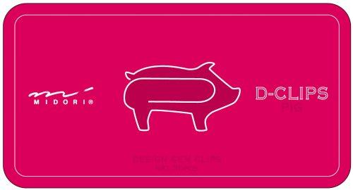 Midori ディークリップス pig pattern
