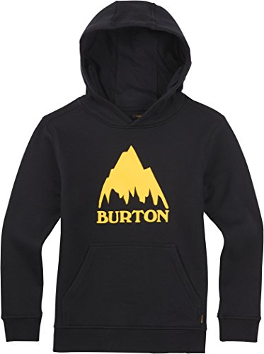 Burton Classic MTN PO, Felpa da ragazzo con cappuccio Nero nero L
