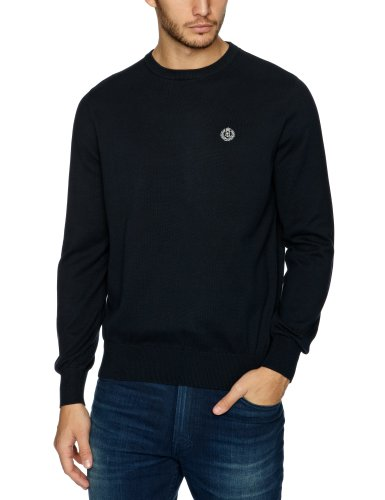 Henri Lloyd Moray Crew Knit Men's Jumper Navy Medium