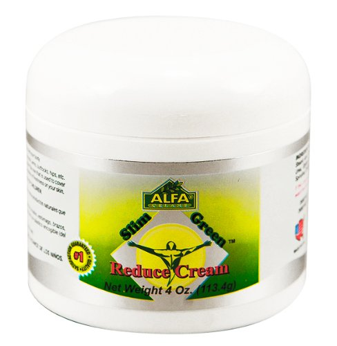 Slim Green Reduce Cream 4 Oz, Weight Loss, Fat Reducer