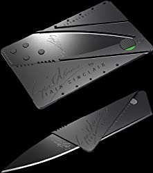 Sinclair Cardsharp Original Cardsharp Credit Card Sized Foldable Knife For Your Wallet Latest Invention (Pack Of 2)