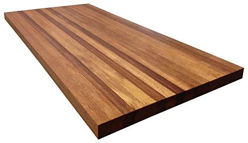 Custom for John - Armani Fine Woodworking African Mahogany Butcher Block Countertop (Butcher Countertop compare prices)