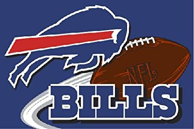 "NFL Buffalo Bills 20"" x 30"" Tufted Rug"