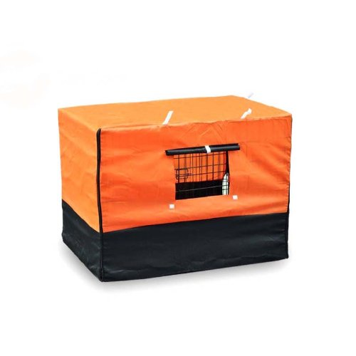 Cover For Dog Cage Kennel - M 24 front-540468