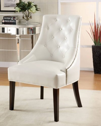 White Wood Chair front-1071396