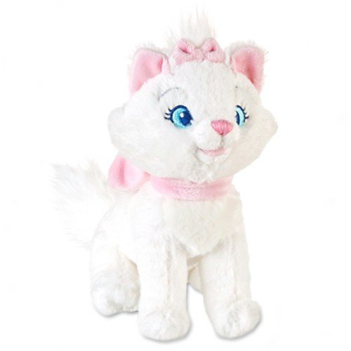 Disney The Aristocats: Marie Mini Bean Bag Plush - 7'' H - 1
