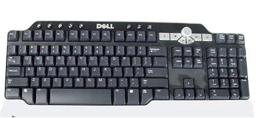 Genuine Dell Spanish/Latin Multimedia Keyboard Includes Palm Rest Part Number: DJ375