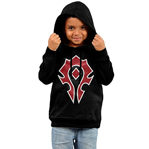 [Toddler Kid World Of Warcraft Horde Spray Hoodies Outwear Clothes] (World Of Warcraft Night Elf Costumes)