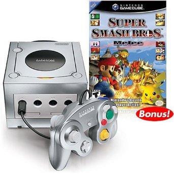 Platinum Nintendo Gamecube Super Smash Bros. Melee Bundle! (Gamecube Super Smash Bros Melee compare prices)