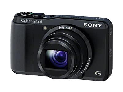ソニーのデジカメのCyber-shot HX30Vのブラック