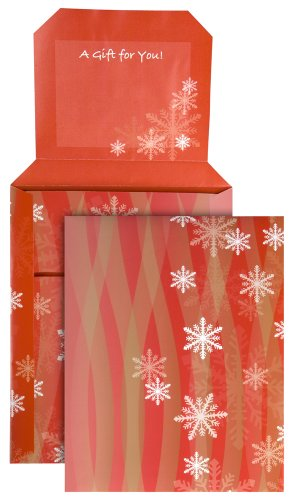 Quality Park Gift-E-Lope Holiday Expand-On-Demand Mailer, Holiday Printed, 9 X 12 Inches, Pack Of 5 (65101)