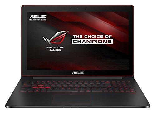 Asus G501JW-FI169H Notebook ROG, Display 15.6 Pollici, Processore Intel Core i7-4720HQ, RAM 16 GB, SSD 512 GB e TPM, Scheda Video nVIDIA GeForce GTX 960M 4 GB, Nero/Antracite