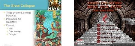 Maya, Inca, Aztec PowerPoint and Challenge Game Set