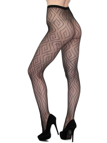 Simplicity Women's Fishnet Pantyhose Tights Thigh High Stock