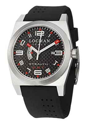 Locman Sport Stealth GMT Men's Quartz Watch 200CRBBK